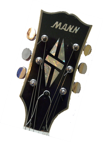 Mann Guitar headstock